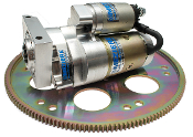 billet 168 tooth flexplate and billet starter
