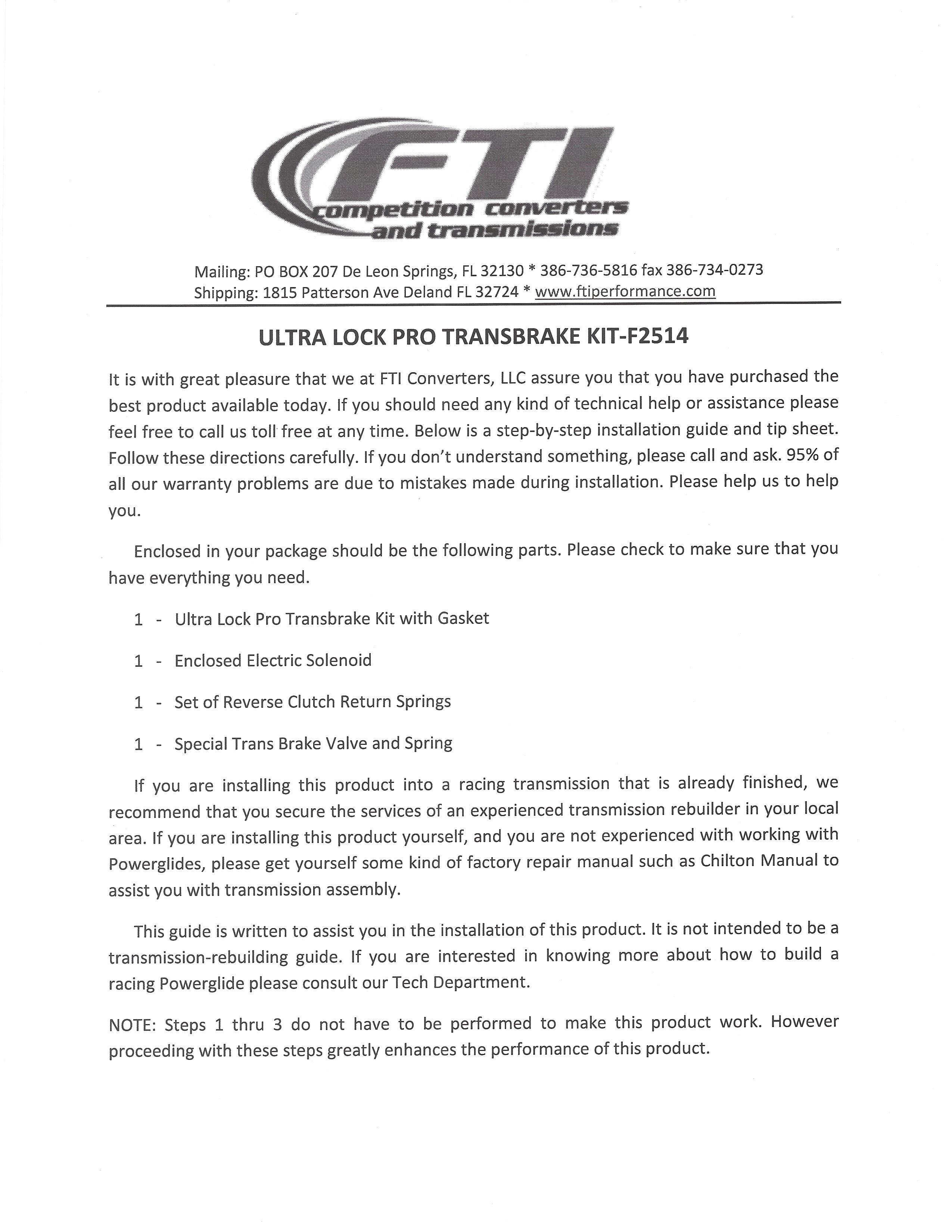 Magnificent Tci Trans Brake Wiring Diagram Component - Electrical  Rh:piotomar.info | 3300